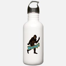Bigfoot Sasquatch Yetti Wassup Water Bottle