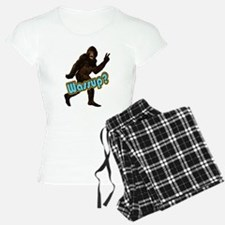 Bigfoot Sasquatch Yetti Wassup Pajamas