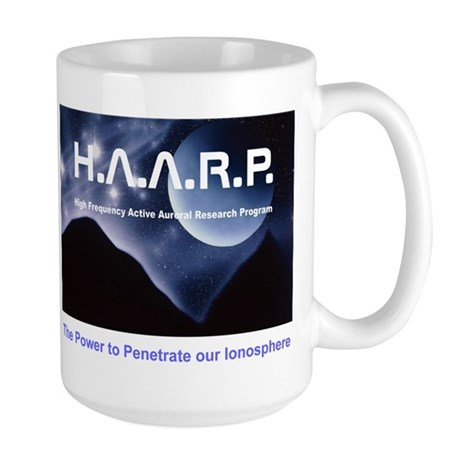 Man Made Auroral Large Mug