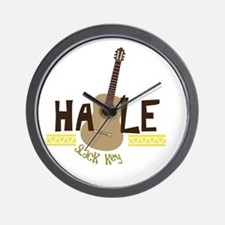 Cute Slack key Wall Clock