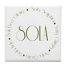 5 Solas Tile Coaster