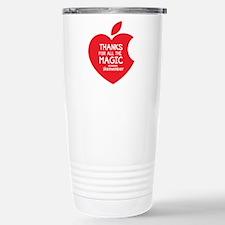 Steve Jobs Stainless Steel Travel Mug