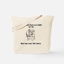 Cute Bulldog sayings Tote Bag