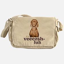 Say Vizsla Messenger Bag
