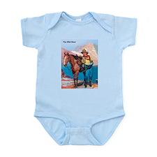 Wild West Gold Rush Prospector Infant Bodysuit