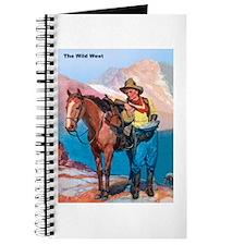 Wild West Gold Rush Prospector Journal