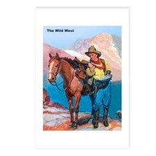 Wild West Gold Rush Prospector Postcards (Package