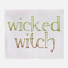 wicked witch Throw Blanket