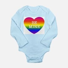 BE MINE Long Sleeve Infant Bodysuit