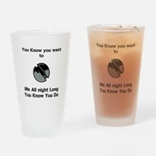 Cute Mind reader Drinking Glass