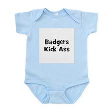 Badgers Kick Ass Infant Creeper