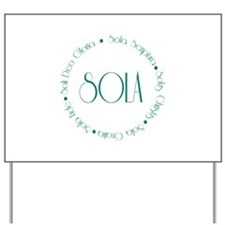 5 Solas Yard Sign