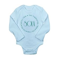 5 Solas Long Sleeve Infant Bodysuit