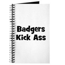 Badgers Kick Ass Journal