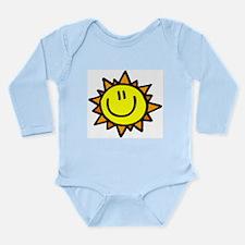 Sunny Smile Long Sleeve Infant Bodysuit
