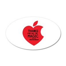 Steve Jobs 22x14 Oval Wall Peel
