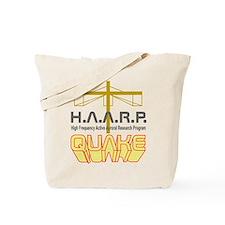 HAARP Quake Antenna Tote Bag