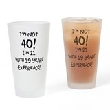 40th Pint Glasses