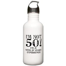 Fiftieth Birthday Water Bottle