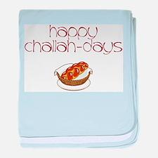Happy Challah-Days baby blanket