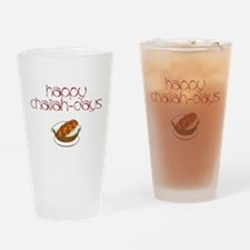 Happy Challah-Days Drinking Glass