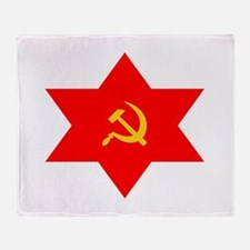 Hammer, Sickle, Star Throw Blanket