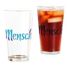 Mensch Drinking Glass
