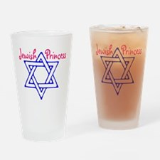 Jewish Princess Drinking Glass
