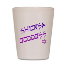 Shicksa Goddess Shot Glass