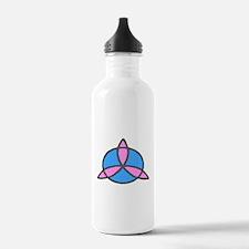 Pink&Blue Trinity Water Bottle