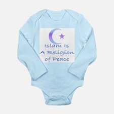 Islam is a Religion of Peace Long Sleeve Infant Bo