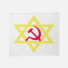 Russian Jewish Pride Throw Blanket