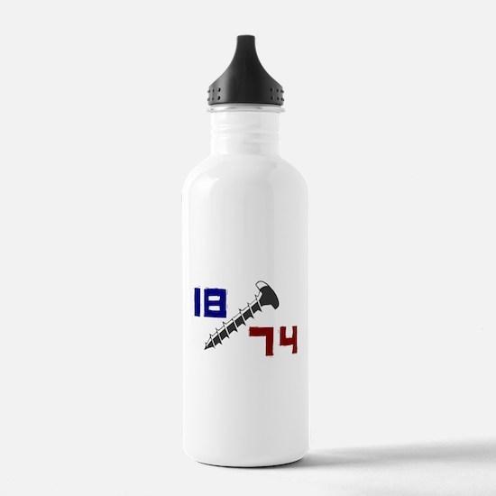 Getting Screwed Since 1874 Water Bottle