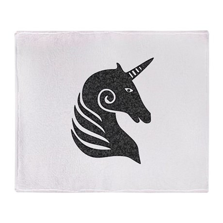 The Unicorn Throw Blanket
