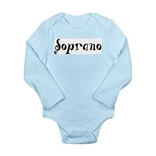 Soprano Long Sleeve Infant Bodysuit