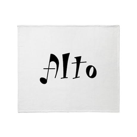Alto Throw Blanket