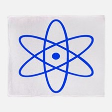 Bohr's Model of the Atom Throw Blanket