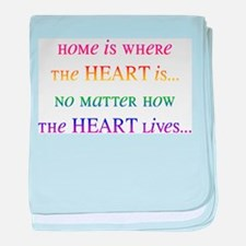Home Is Where the Heart Is... baby blanket