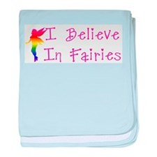 Fairies baby blanket