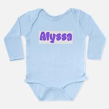 Alyssa Long Sleeve Infant Bodysuit