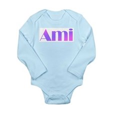 Ami Long Sleeve Infant Bodysuit