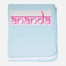 Ananda baby blanket
