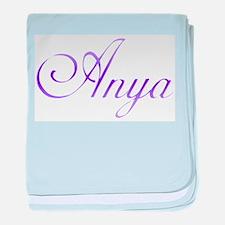 Anya baby blanket