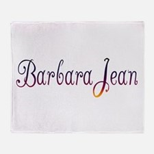 Barbara Jean Throw Blanket