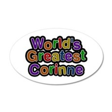 World's Greatest Corinne Wall Decal