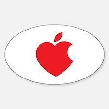Steve Jobs Sticker (Oval)