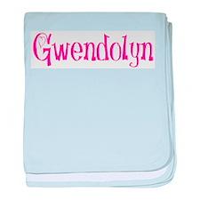 Gwendolyn baby blanket