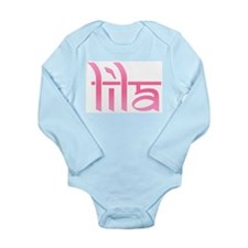 Lila Long Sleeve Infant Bodysuit