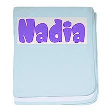 Nadia baby blanket