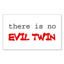Evil Twin Rectangle Decal